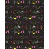 Emoji Sketches Printed Backdrop