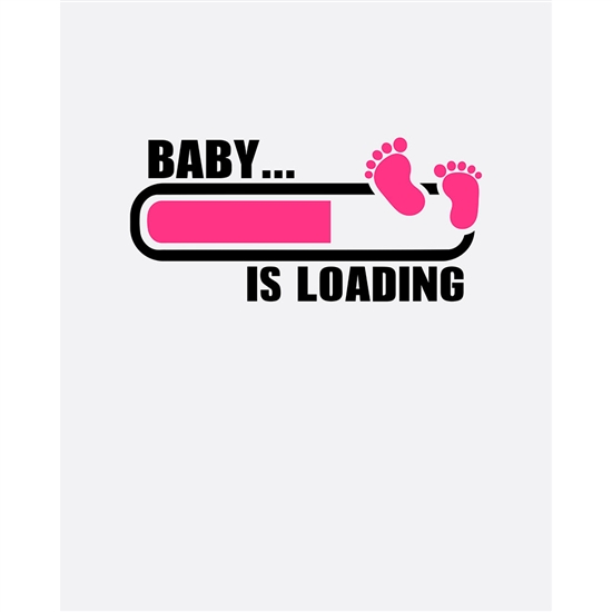 Quot Baby Is Loading Quot Printed Backdrop Backdrop Express