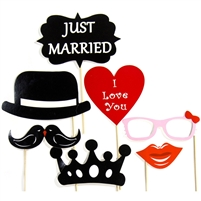 Royal Wedding Photo Booth Props