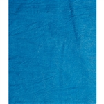 Bright Blue Hand Wash Muslin Backdrop