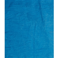 Bright Blue Muslin Backdrop