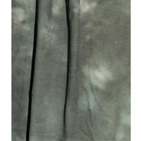 Dark Olive and Green Mottled Reversible Muslin Backdrop