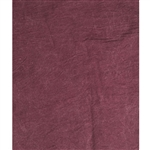 Merlot Red Stonewash Reversible Muslin Backdrop