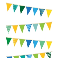 Party Banners Printed Seamless Paper