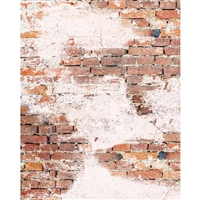 Weathered Brick Printed Seamless Paper