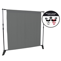 Charcoal Gray Photo Booth Kit