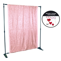 Spring Pink Sequin Photo Booth Kit