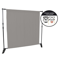 Storm Gray Photo Booth Kit