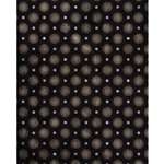 Grayscale Polka Dots Printed Backdrop