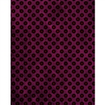 Dark Purple Polka Dots Printed Backdrop