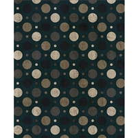 Steel Gray Polka Dot Printed Backdrop