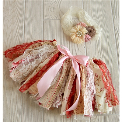 Rustic Tutu & Headband Set