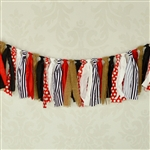 Pirate Fabric Garland