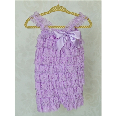Light Purple Lace Petti Romper