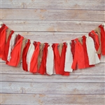 The Reds Fabric Garland