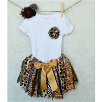 Safari Tutu & Headband Set