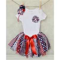 Patriotic Tutu & Headband Set