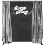 """Always & Forever"" Custom Backdrop Kit"