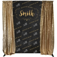 """Enchanted Affair"" Custom Backdrop Kit"