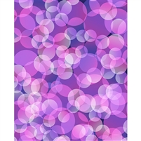 Purple Bokeh Printed Backdrop
