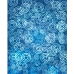 Blue Ripples Printed Backdrop