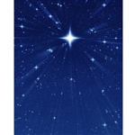 Wish Upon a Star Printed Backdrop