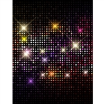 Disco Nights Printed Backdrop