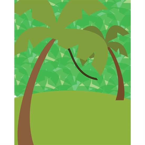 Tree Swinger Poseable Printed Backdrop