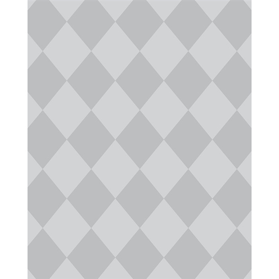 Gray Argyle Printed Backdrop