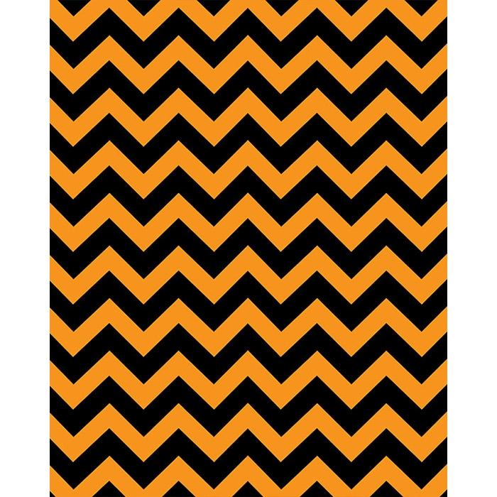 orange chevron background