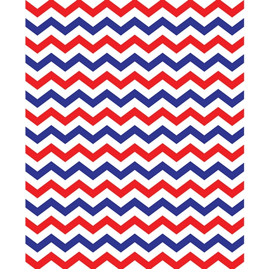 Red White Amp Blue Chevron Printed Backdrop Backdrop Express