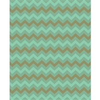 Forest Tones Chevron Printed Backdrop