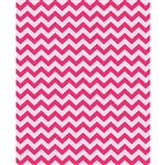 Hot Pink & Blush Chevron Printed Backdrop
