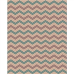 Rustic Southwest Chevron Printed Backdrop