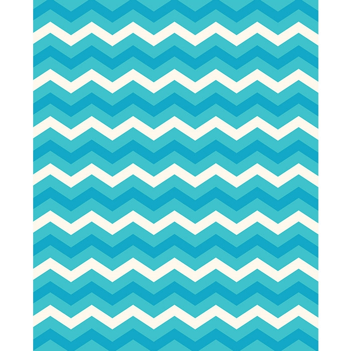 Chevron Underwater World Backdrop Abstract Chevron Pattern in Vintage Funky Colors Old-Fashioned V-Stripes Print Decals Poster Orange Yellow L30 X H18 Inch