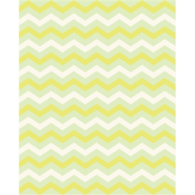 Pale Green Chevron Printed Backdrop