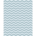 Winter Gray & White Chevron Printed Backdrop