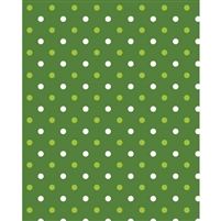 Green Polka Dots Printed Backdrop