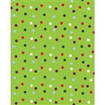 Speckled Polka Dots Printed Backdrop