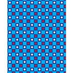 Checkerboard Polka Dots Printed Backdrop