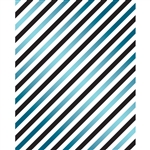 Blue Stripes Printed Backdrop