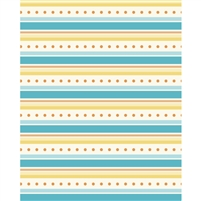 Gold & Teal Wallpaper Printed Backdrop