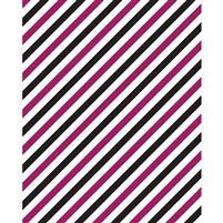 Licorice Stripes Printed Backdrop