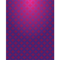 Red & Purple Geometric Printed Backdrop