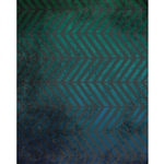 Blue Grunge Parallel Chevrons Printed Backdrop