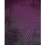 Purple Grunge Parallel Chevrons Printed Backdrop