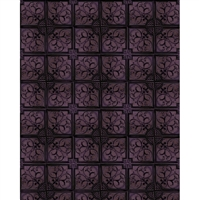 Distressed Purple Squares Printed Backdrop