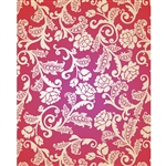 Purple, Red & Cream Roses Printed Backdrop 036