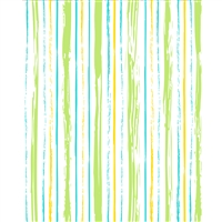 Sketched Green and Blue Stripes Printed Backdrop