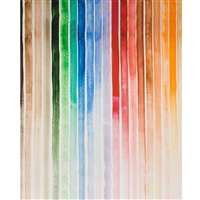 Water Color Stripes Painted Backdrop